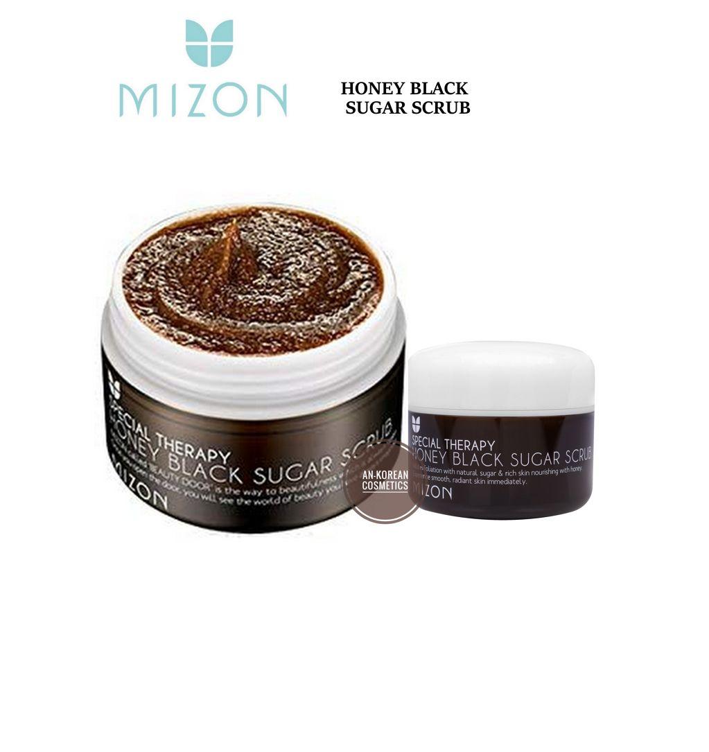 Mizon Honey Black Sugar Scrub - 14dc2-mizon_honey_black_sugar_scrub-02.jpeg