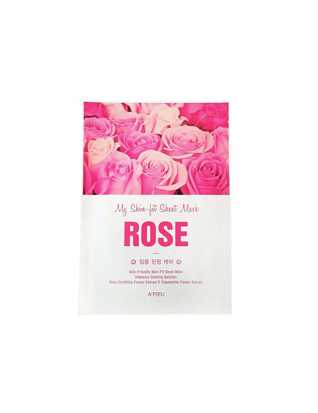 A'PIEU Skin-Fit Sheet Mask (Rose) - 3a20a-Apieu-My-Skin-Fit-Rose-Sheet-Mask.jpg