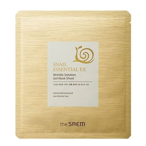 THE SAEM Snail Essential EX Wrinkle Solution Gel Mask Sheet - 4dcb8-saem.jpeg