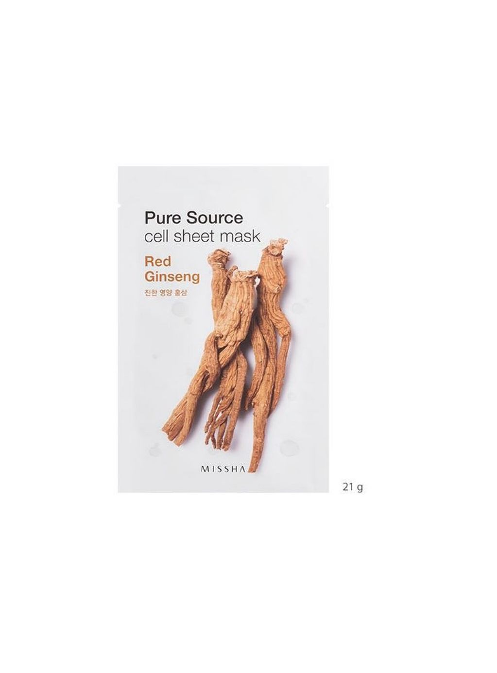 MISSHA Pure Source Cell Sheet Mask (Red Ginseng) - 64a8e-pure-source-cell-sheet-mask-red-ginseng.jpg