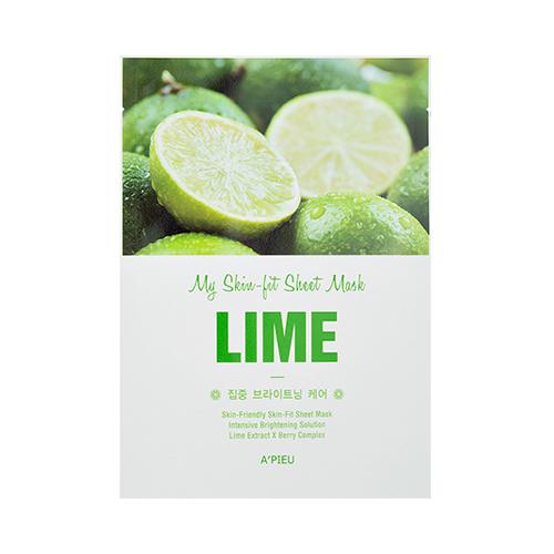 A'PIEU Skin-Fit Sheet Mask (Lime) - 85ca9-apieu_mt_149_02_light.jpg