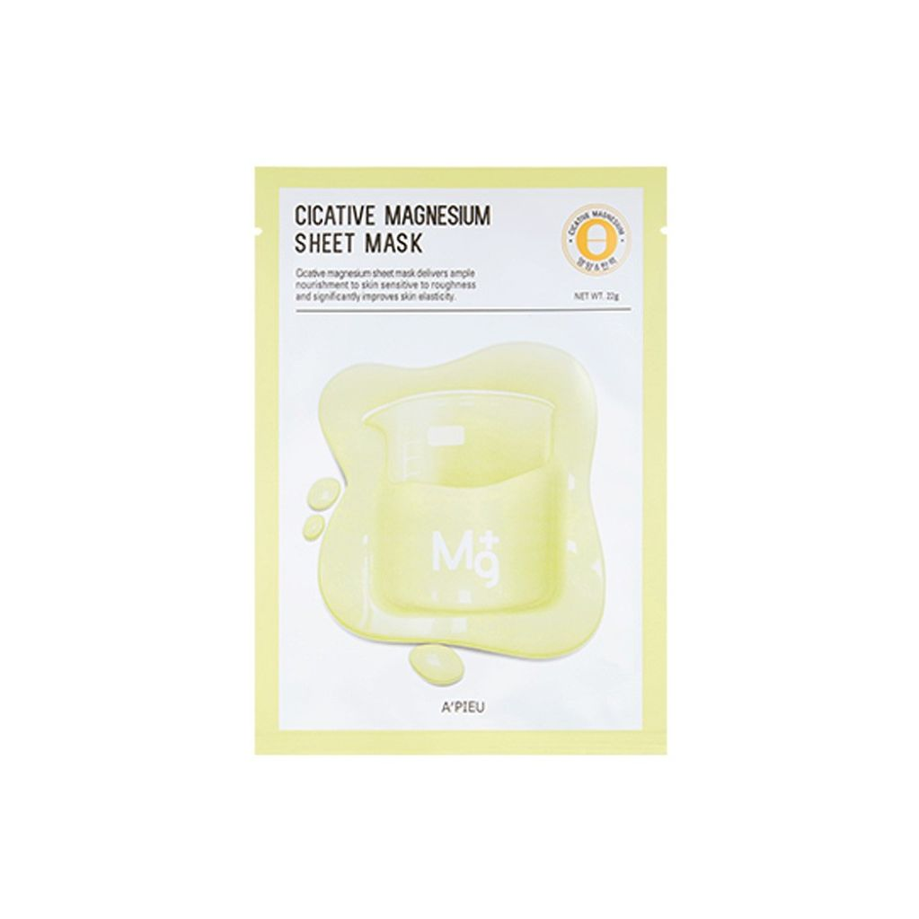 Cicative Sheet Mask - Función : Magnesium - adb86-cicative-magnesium.jpg