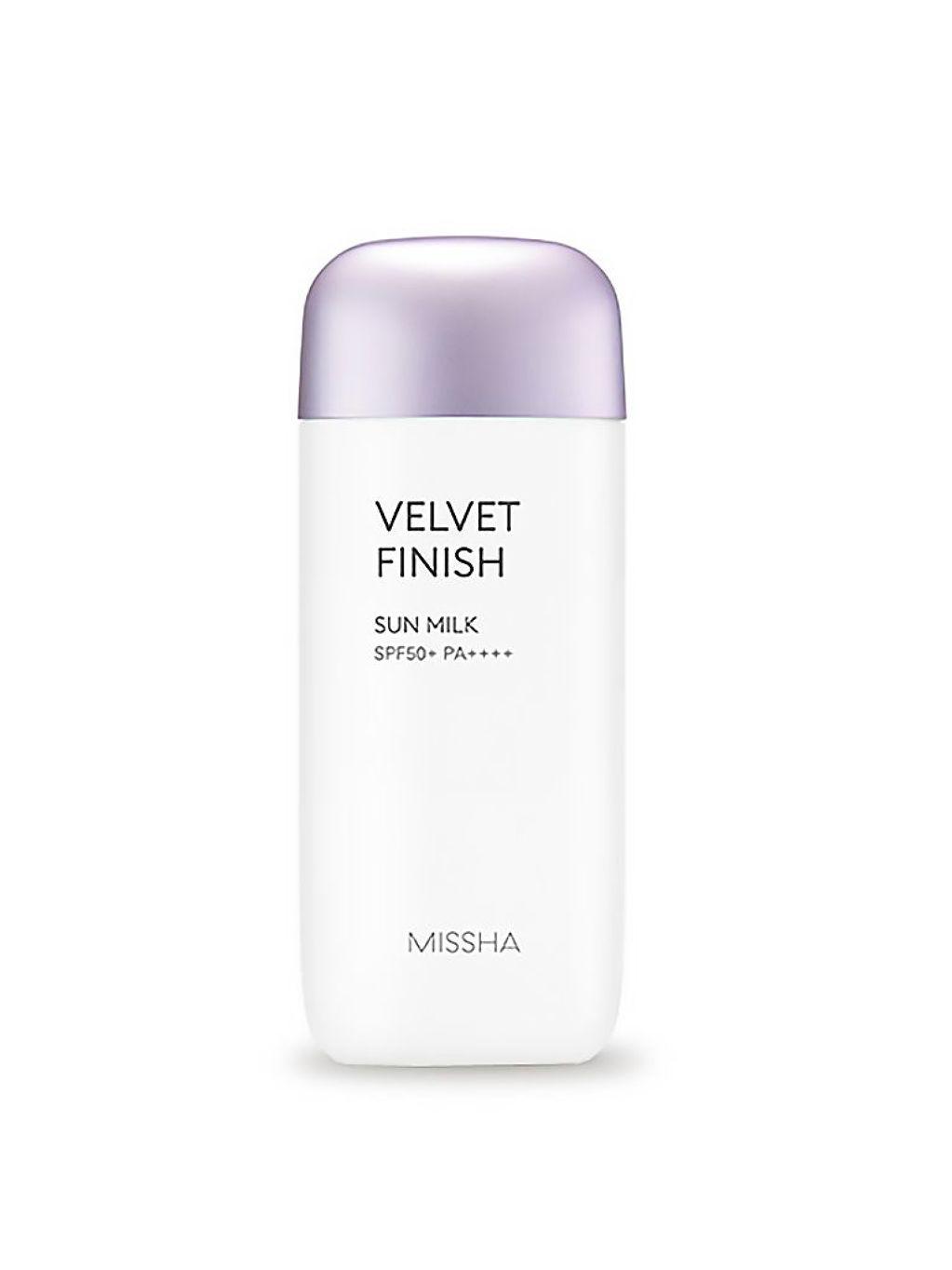 MISSHA All Around Safe Block Velvet Finish Sun Milk SPF50+ PA+++ 70ml - bee45-0918-missha-velvet-finish-sun-milk-70ml-product-thumbnail.jpg