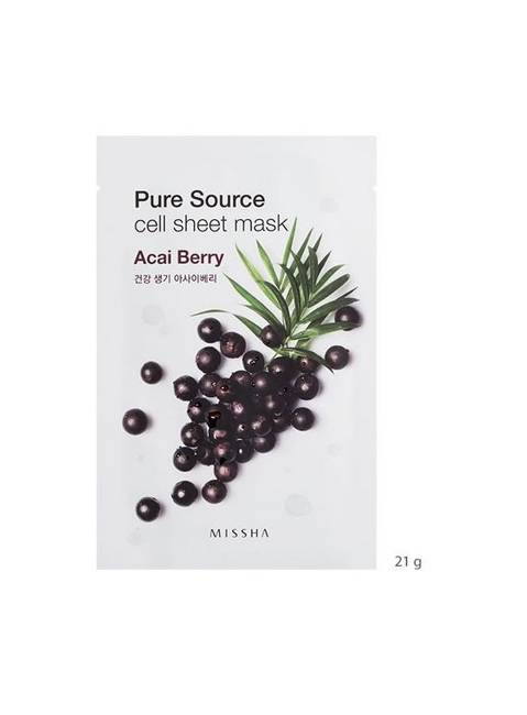 PURE SOURCE CELL SHEET MASK (ACAI BERRY)