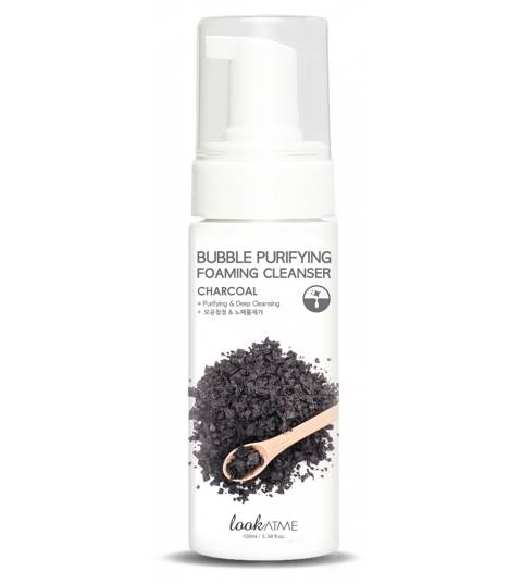 BUBBLE PURIFYING FOAMING CLEANSER CHARCOAL