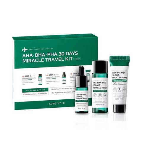 SOMEBYMI AHA BHA Miracle Travel Kit