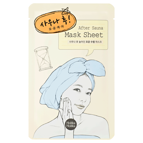 After Mask Sheet-Sauna