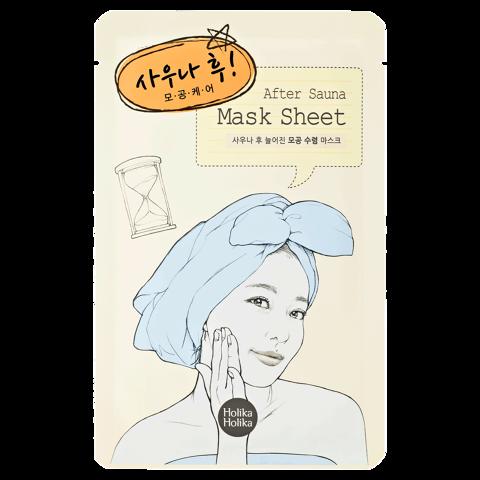 After Mask Sheet-Sauna