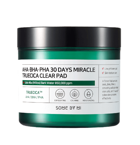 SOMEBYMI AHA-BHA-PHA 30 days Miracle Truecica Clear Pad
