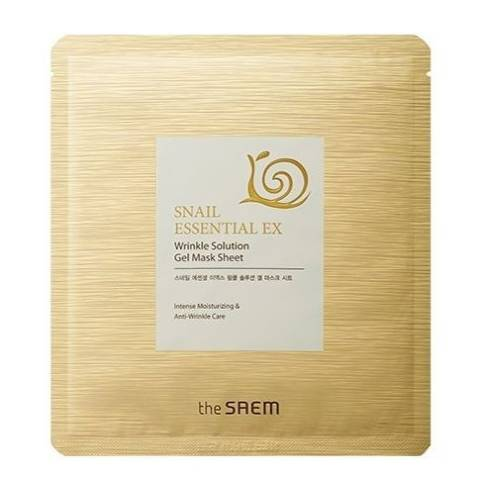 THE SAEM Snail Essential EX Wrinkle Solution Gel Mask Sheet