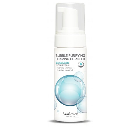 BUBBLE PURIFYING FOAMING CLEANSER COLLAGEN