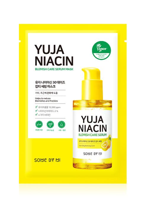 SOMEBYMI Yuja Niacin Blemish Serum Mask