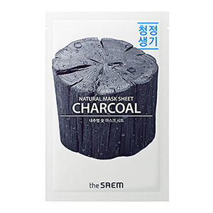 The Saem Natural Charcoal Mask Sheet