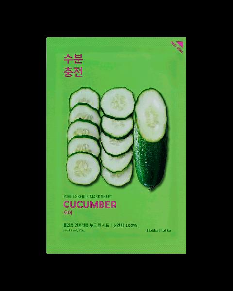 Holika Holika Pure Essence Mask Sheet-Cucumber