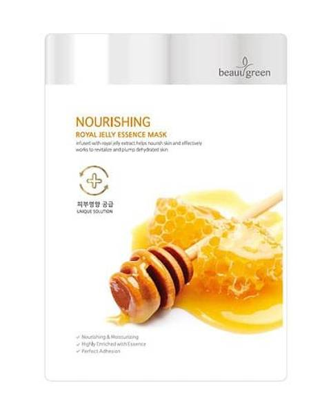 BeauuGreen Nourishing Royal Jelly Essence Mask Sheet