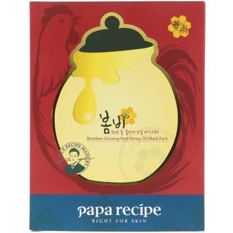 Bombee Ginseng Red Honey Oil Mask Pack