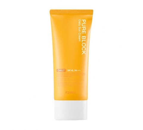 PURE BLOCK NATURAL DAILY SUN CREAM SPF45/PA+++