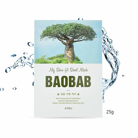 A'PIEU Skin-Fit Sheet Mask (Baobab Tree)