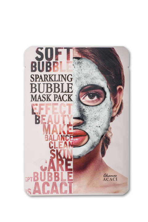 Chamos ACACI Sparkling Bubble Mask Pack