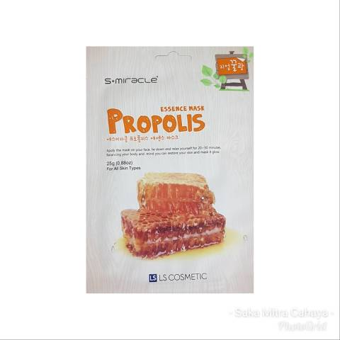 S+MIRACLE PROPOLIS ESSENCE MASK