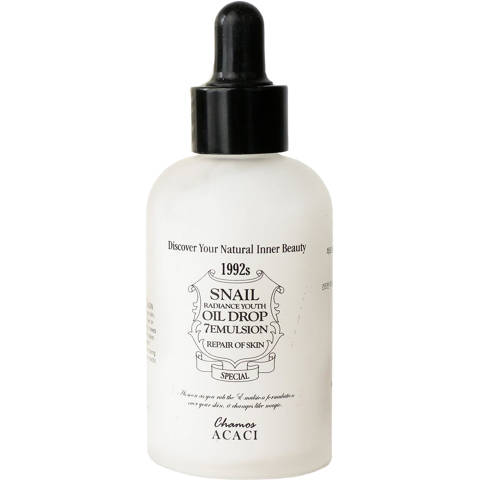 Chamos Acaci  SNAIL RADIANCE YOUTH OIL DROP 7 EMULSION