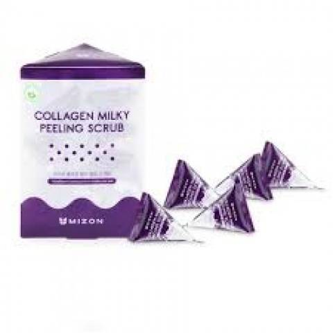 Mizon Collagen Milky Peeling Scrub