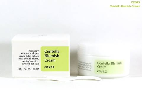 Crema anti-imperfecciones Centella Blemish de COSRX 30 ml
