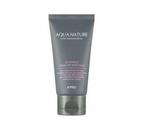 AQUA NATURE BLACKHEAD CLEAN-OFF NOSE PACK