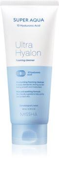 Missha Super Aqua Ultra Hyalron Cleansing Foam