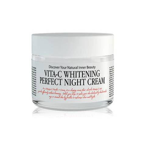 Chamos Acaci Vita C Whitening Perfect Night Cream 50ml