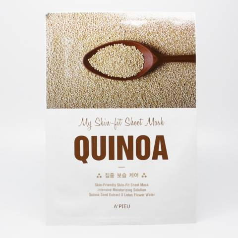 A'PIEU Skin-Fit Sheet Mask (Quinoa)